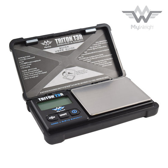 MyWeigh - TRITON - T3 500 - Rechargeable Scale