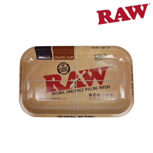 RAW® - Classic Metal Rolling Tray - Small