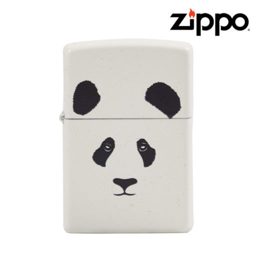 Zippo® - Lighters - WHITE Matte Panda