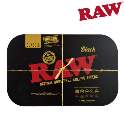 RAW® - BLACK - Rolling Tray Cover - Small