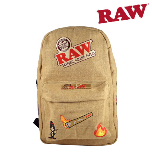 RAW® - Burlap Backpack - RAW'D Out Edition