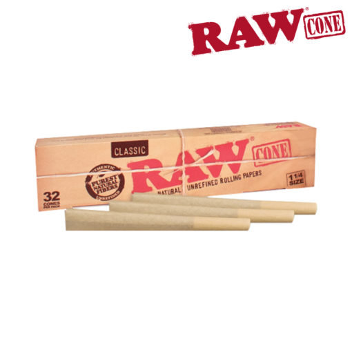 RAW® - Pre-Rolled Cone 1¼ – 32/Pack