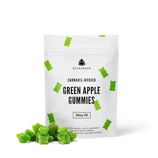 BuudaBomb - Green Apple Gummies