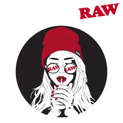 RAW® - Raw Girl - Sticker