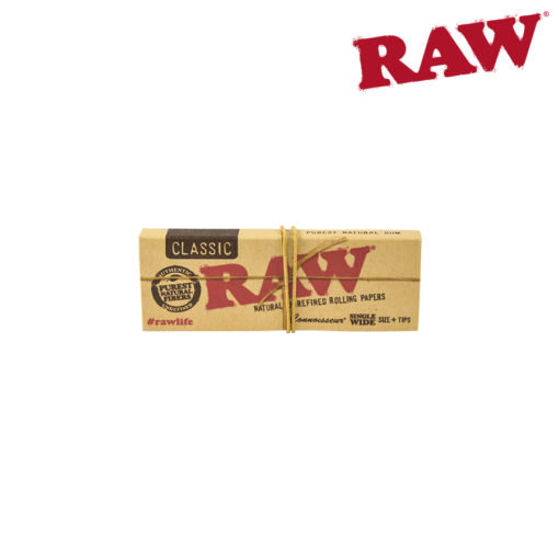 RAW® - Classic - Connoisseur Single Wide - Rolling Papers