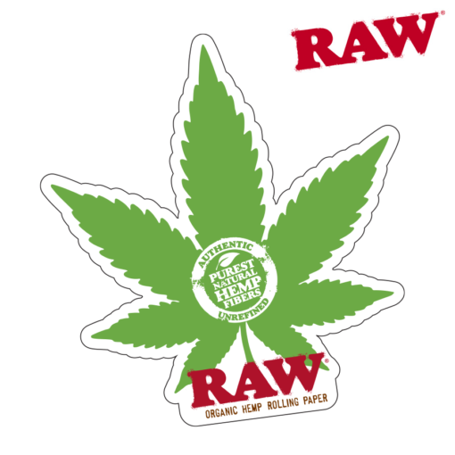 RAW® - Hemp Leaf - Sticker