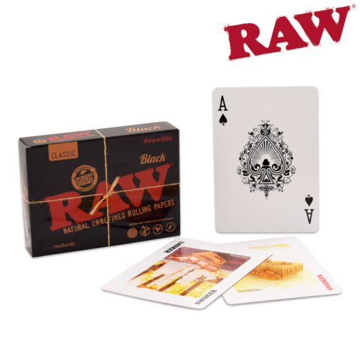 RAW® - BLACK Playing Cards