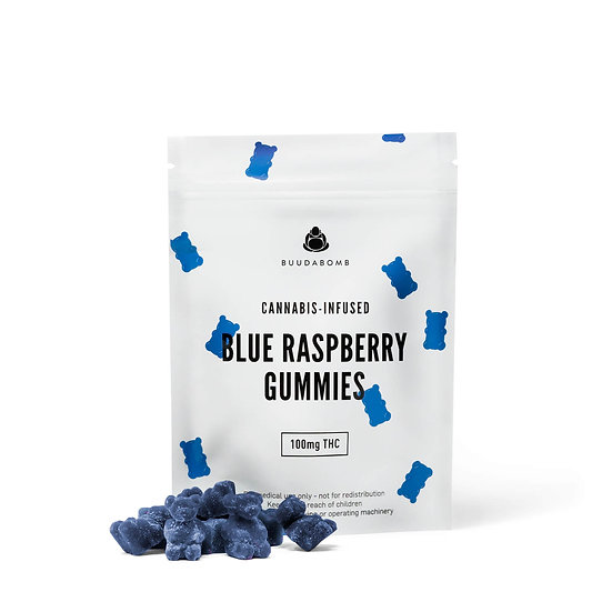 BuudaBomb - Blue Raspberry Gummies