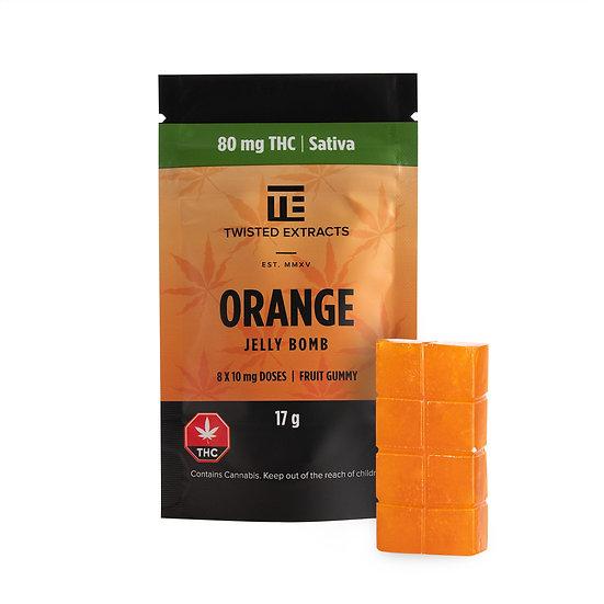Twisted Extracts - Orange - Jelly Bomb - Sativa