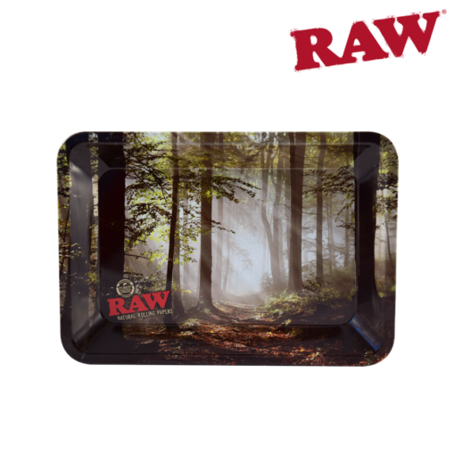 RAW® - Smokey Forest - Rolling Tray - Mini