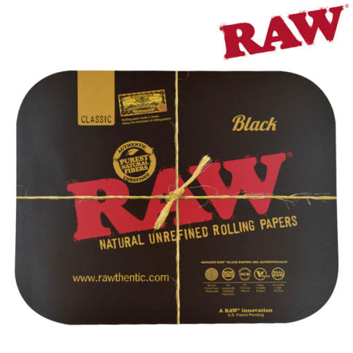 RAW® - BLACK - Rolling Tray Cover - Large