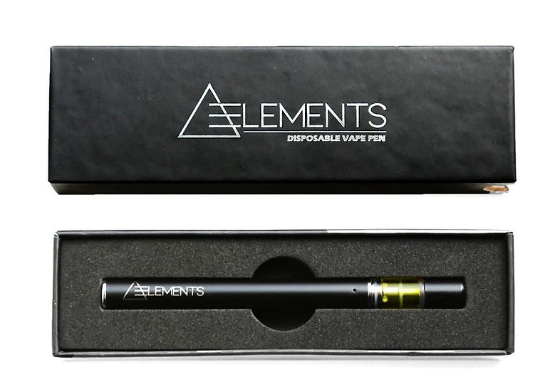 Elements - Disposable Vape Pen - Sour Diesel - Sativa