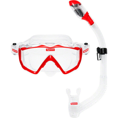 Supreme®/Cressi - Snorkel Set - RED
