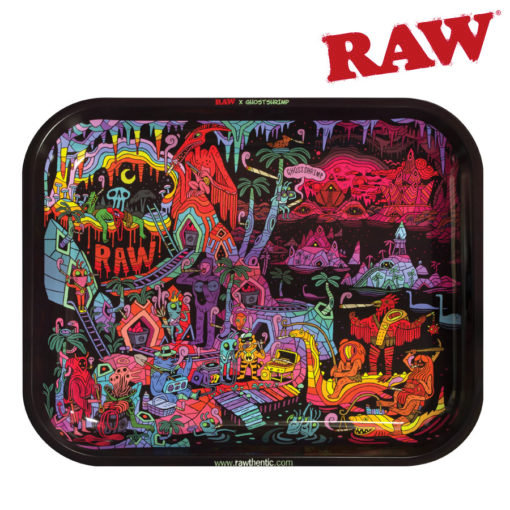 RAW® - Rolling Tray - Ghost Shrimp 2 - Large