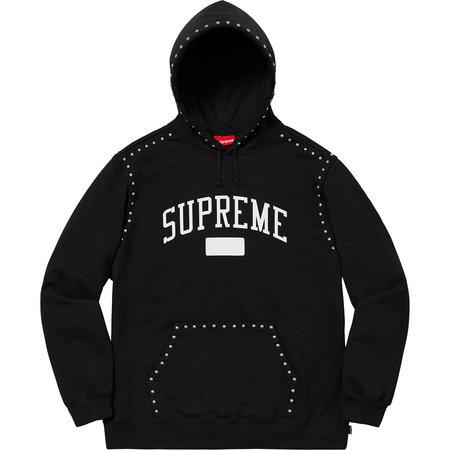 Supreme® - Studded Hooded Sweatshirt - FW18SW32