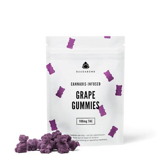 BuudaBomb - Grape Gummies