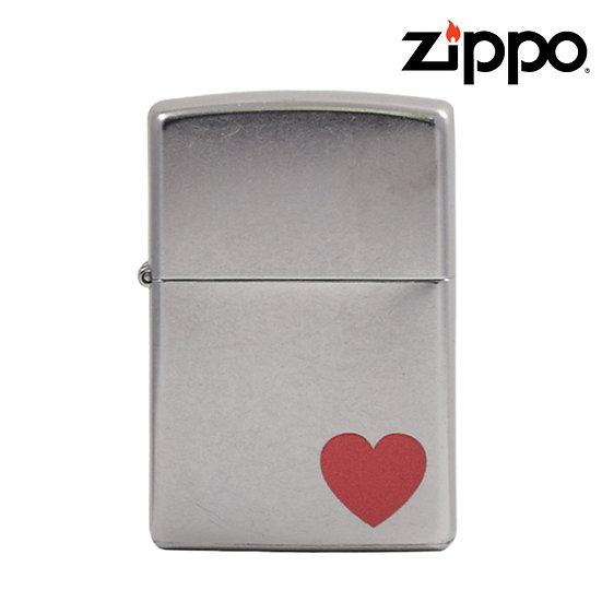 Zippo® - Lighter - Street Chrome Heart