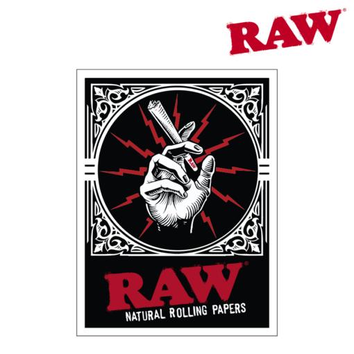 RAW® - Hand Cone - Sticker