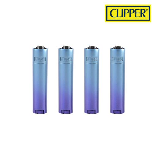 Clipper® - Micro Metal Gradient BLUE Design