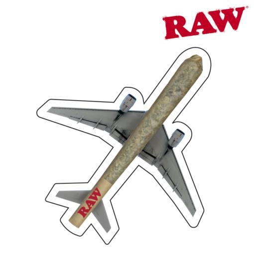 RAW® - Plane - Sticker