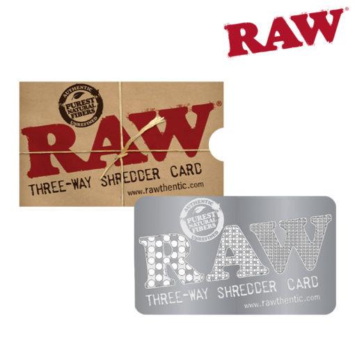RAW® - 3-Way Shredder Card