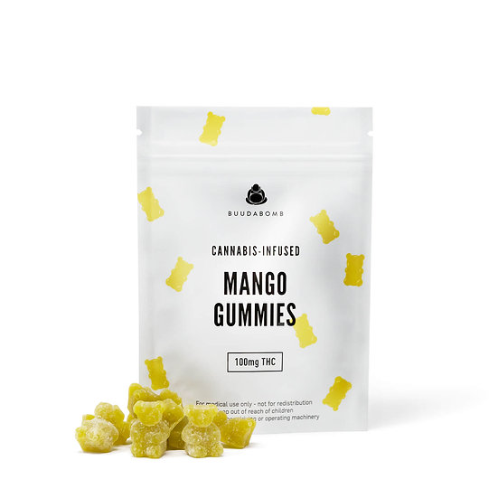 BuudaBomb - Mango Gummies
