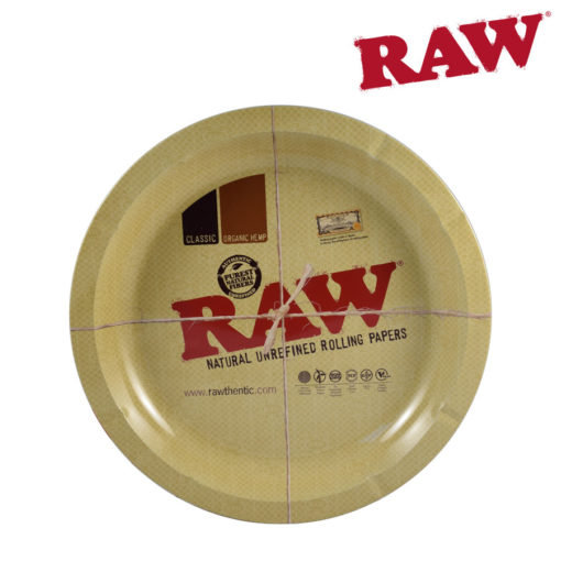 RAW® - Round Metal Rolling Tray
