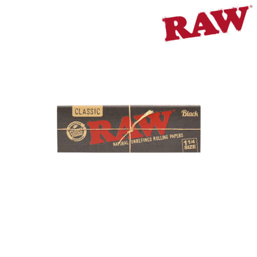 RAW® - BLACK - 1¼ - Rolling Papers