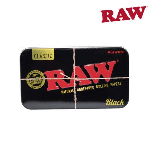 RAW® - BLACK Metal Tin Case