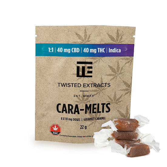 Twisted Extracts - Cara-Melts - 1/1 - Indica - THC/CBD