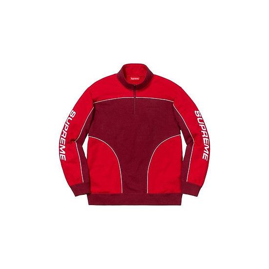 Supreme® - Speedway Half Zip Sweatshirt - FW18SW36