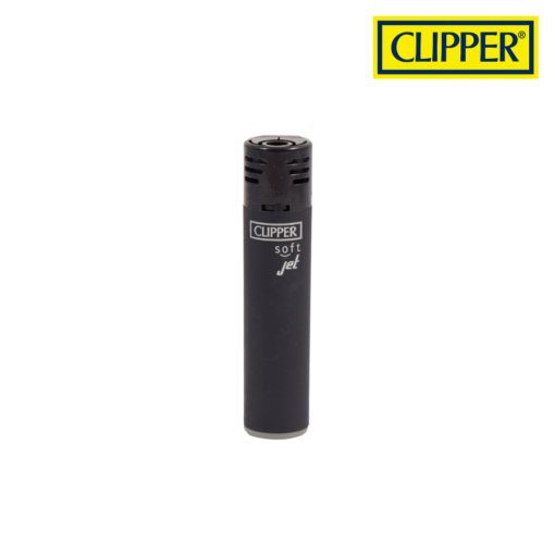 Clipper® - Plastic Jet Flame - BLACK Lighters Collection