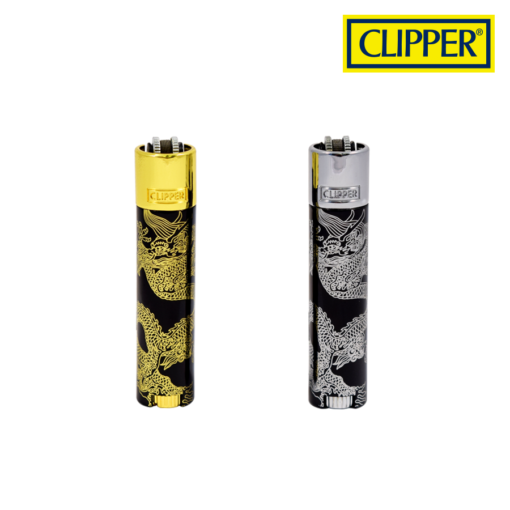 Clipper® - Dragons - Metal Lighters Collection