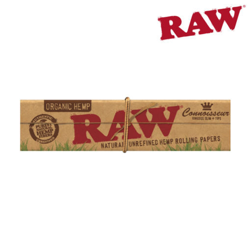 RAW® - Organic Hemp Connoisseur King Size Slim - Rolling Papers
