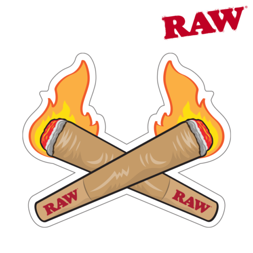 RAW® - Fire Cones - Sticker