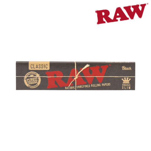 RAW® - BLACK - King Size Slim - Rolling Papers