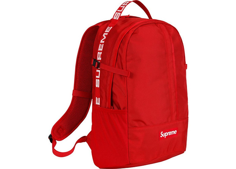 Supreme® - RED Backpack - SS18B7
