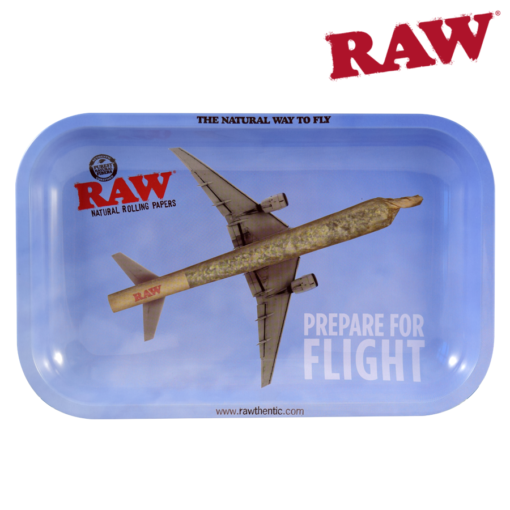 RAW® - Rolling Tray - Prepare For Flight - Small