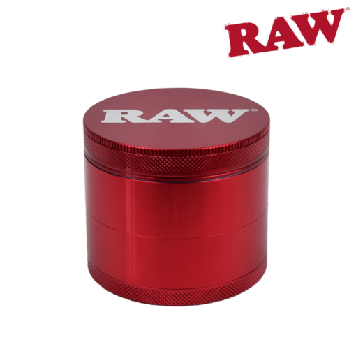 RAW® - 4 Piece LIFE Grinder - RED