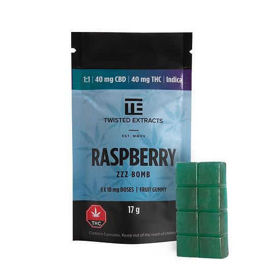 Twisted Extracts - Blue Raspberry - 1/1 - ZZZ Bomb - THC/CBD Indica