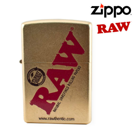 RAW® - Zippo® Lighter - Gold