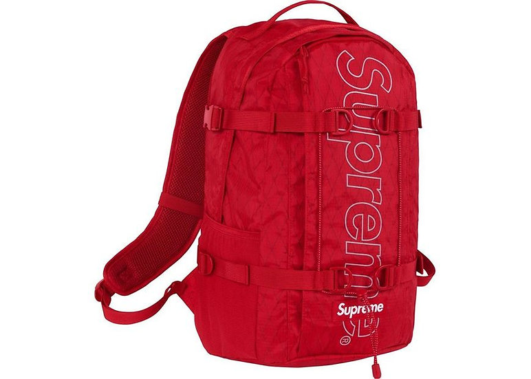 Supreme® - Backpack - Red -FW18B8