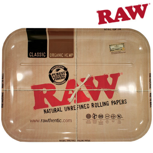 RAW® - Classic Metal Rolling Tray - XXLarge