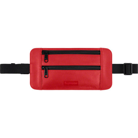Supreme® - Leather Waist/Shoulder Pouch - Red