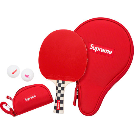 Supreme® / Butterfly Table Tennis Racket Set - Checkerboard