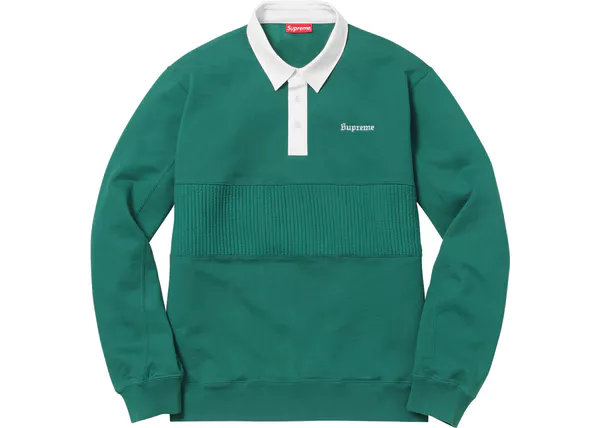Supreme® - Rugby Sweatshirt - FW17SW24
