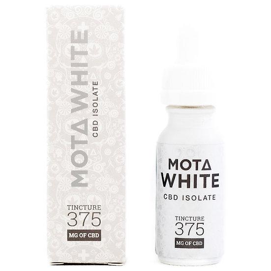 MOTA - WHITE Tincture - 375mg CBD