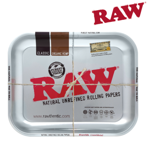 RAW® - Metal Rolling Tray - Large