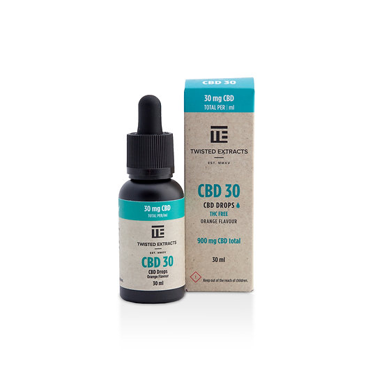 Twisted Extracts - CBD 30 Drops - 900mg CBD