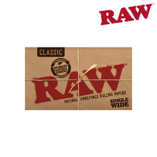 RAW® - Classic - Single Wide Double Window - Rolling Papers